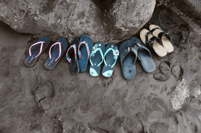 Chanclas en verano: ¿son una buena opción?